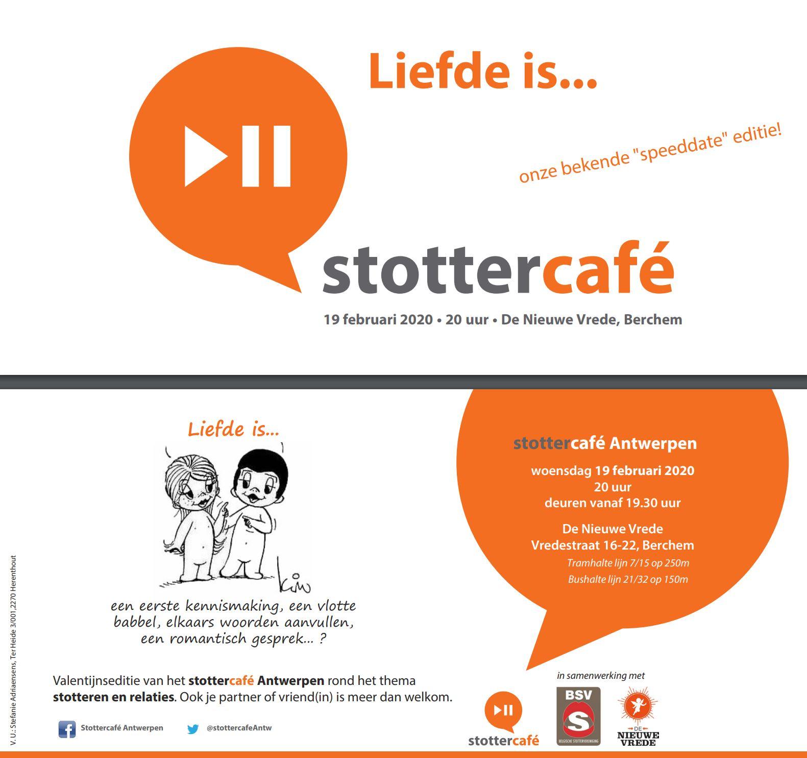 stottercafe berchem belgische stottervereniging